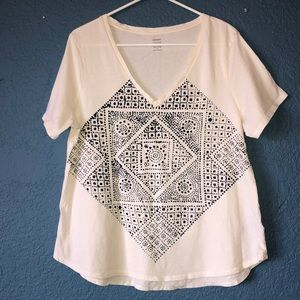 Old Navy Relaxed Fit Tee Size XL